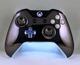 "Custom Microsoft Xbox One Controller ""White Gunmetal"" (Model 1697) - $71.21"