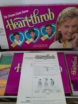 Vintage Heartthrob Board Game 1998 Milton Bradley Missing One Card, Scor... - $32.62
