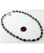 21 Gr Smoky Handmade Beaded Jewelry Necklace-398-17 - $7.81