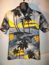 Hawaiian,Tropical, Button Front, Shirt by Royal Creations, Hawaii, Size S - $13.50