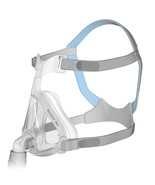 Resmed Quattro Air Large Full Face mask kit complete with headgear  - $84.00