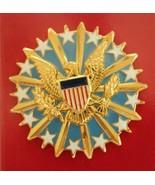 US ARMY AIR FORCE GI UNITED STATES DCMA COMMAND FULL SIZE ENAMELED I.D. ... - $54.44
