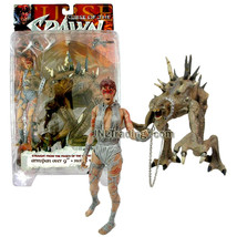 Year 1998 Curse Of The Spawn 6 Inch Tall Figure : Jessica Priest & Mr. Obersmith - $54.99