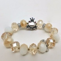 Betsey Johnson Frog Cherry Bead Stretch Bracelet  NWT $45 - $23.69