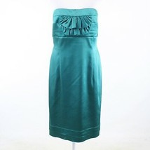 Teal green ARTHUR S. LEVINE Tahari strapless sheath dress 16 - $34.99