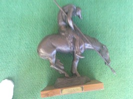 THE END OF THE TRAIL STATUE - $93.50