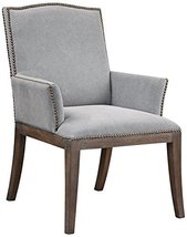 Uttermost Lantry Stony Gray Fabric Accent Chair - $635.80