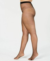 *Hanes Curves Fishnet Tights, Black, 1X / 2X, Open Package - $10.99
