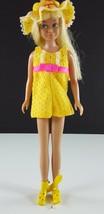 Skipper 1975 Sunny Suity 1969 Yellow Romper w/ Hat, Sandals Original Clo... - $29.69
