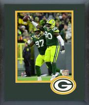 Montravius Adams 2019 Green Bay Packers -11x14 Team Logo Matted/Framed Photo - $42.95