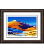 """Rockwell Kent """"Vermont Study"""" Hudson River School Print - Limited Edition - $405.00"""