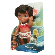 "Disney 12"" Toddler Bathtime Moana Doll and Turtle Friend - $29.99"