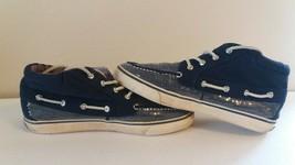 Sperry Top Sider Women Canvas Hi Top Sneaker  Size 9M - $11.88