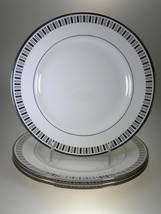 Royal Worcester Monaco Lunar Accent Plates Set of 4 NEW WITH TAGS Made i... - $55.39