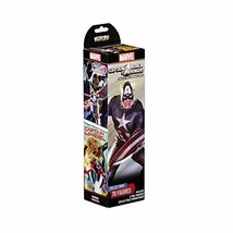 WizKids Marvel HeroClix Captain America and The Avengers Booster - $14.23