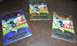 2015-16 Panini Select and Others France Soccer Card Lot World Cup Champs... - $38.62