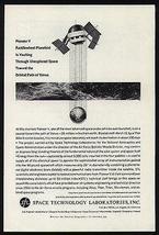 PIONEER V Paddlewheel Space Probe to Venus 1960 AD Space Tech Lab - $10.99