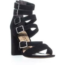 Sam Edelman Yasmina Multi Boucle Robe Sandales, Noir, 7.5 US / 37.5 Ue - $116.40
