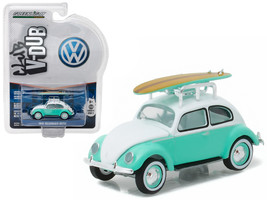 1946 Volkswagen Beetle Green with Roof Rack and... - $13.99
