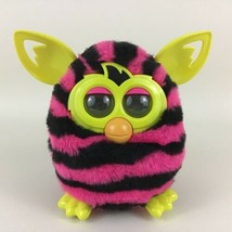Furby Boom Interactive Toy Pet Hasbro 2012 Pink Striped with Batteries T... - $69.25