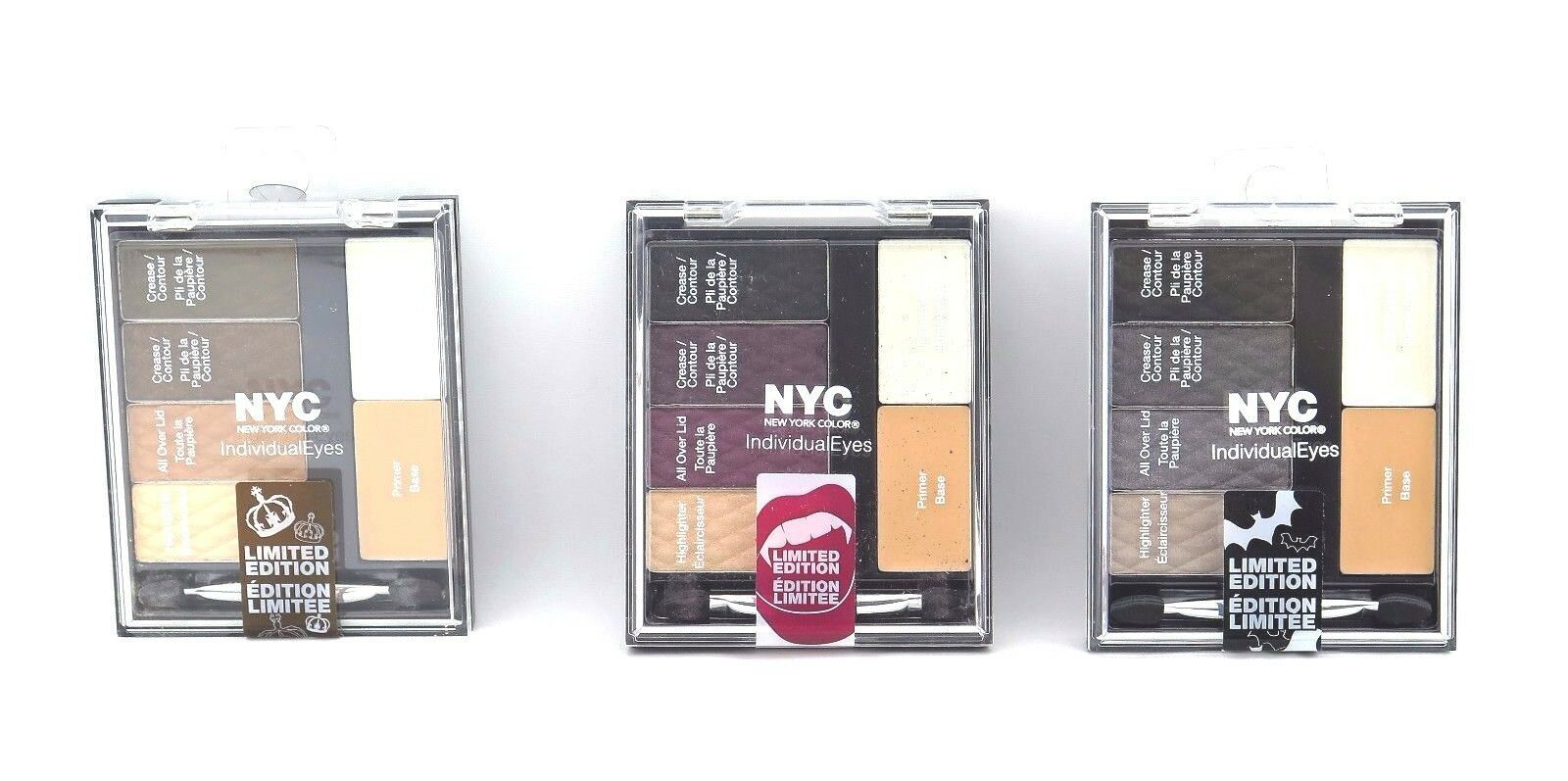 Primary image for NYC IndividualEyes Eye Shadow Limited Edition *Choose your shade* Twin Pack*