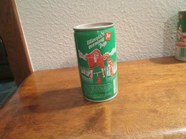 Illinois IL turning 7up vintage pop soda metal can bicycling Salem State... - $10.99