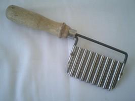 "Vintage Wooden Handle Garnishing Tool 7"" - $7.67"