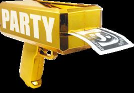 Rainmaker Handheld Cash Gun / Bill Dispenser / Money Shooter / Metallic ... - $16.82