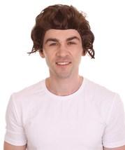 60s Beatles Mod Wig | Brown Celebrity Wigs | Premium Breathable Capless Cap - $26.85