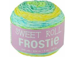 Premier Sweet Roll Frostie Yarn in Limeade