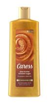 Caress Exfoliating Body Wash Shea Butter & Brown Sugar 18 oz  - $7.95