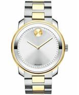 Movado Bold Series Men's Two Tone Stainless Steel Swiss Quartz Watch 360... - $420.63