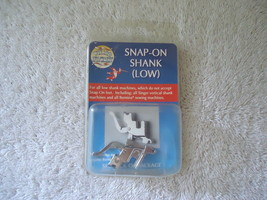 """Wizard Attatchments """" NIP """" Snap-On-Shank ( Low ) For Sewing Machines,Si... - $11.29"""
