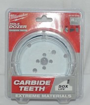Milwaukee 49560744 Carbide Teeth Hole Dozer 4 One Quater Inches image 1