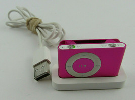 Apple iPod Shuffle 2nd Generation PINK 1GB Clip On A1204 - $36.92