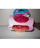 New Cake 2 Go  GO Cupcake Holder Hard Plastic New - $3.89
