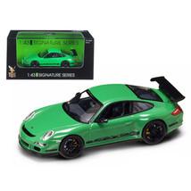 Porsche 911 997 GT3 RS Green 1/43 Diecast Car Model by Road Signature 43... - $23.92
