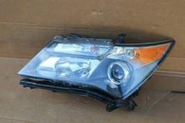 07-09 Acura MDX XENON HID Headlight Lamp Driver Left LH - POLISHED image 1
