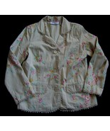 Two-Twenty Collection Blair Embroidered w/Lace Lined Jacket sz.M - $6.99