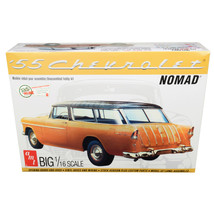 Skill 3 Model Kit 1955 Chevrolet Nomad Wagon 2 in 1 Kit 1/16 Scale Model... - $65.05