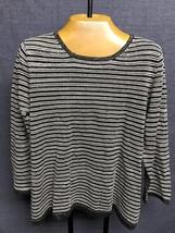 Brand New Talbots Womens Striped Sweater Size L - $14.01