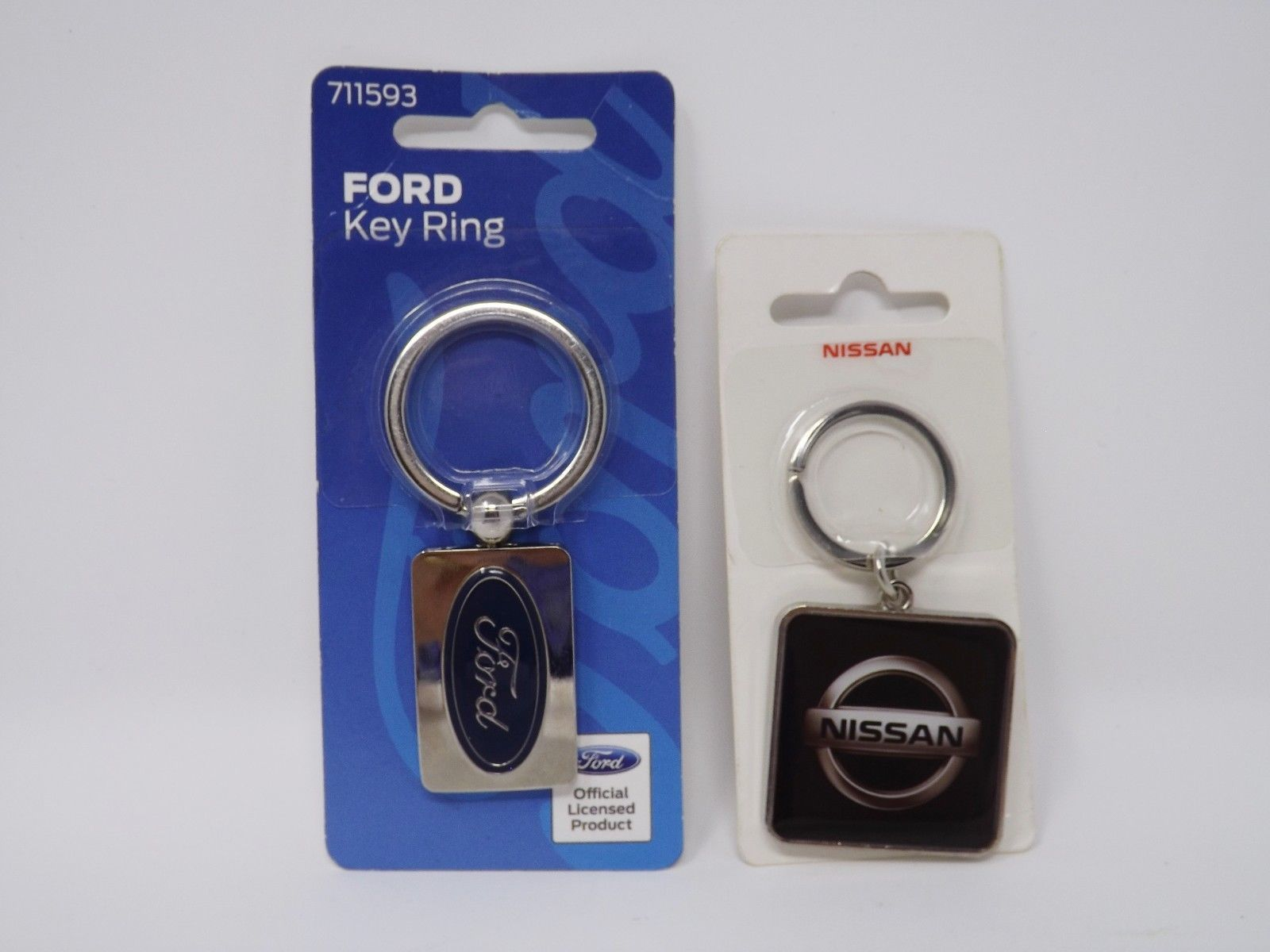 The Hillman Group - New - Metal Automobile Key Ring