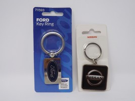 The Hillman Group - New - Metal Automobile Key Ring image 1