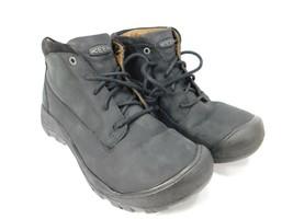 Keen Austin Size 9 M (D) EU 42 Men's Lace-Up Oxford Casual Shoes Black 1019504  - $53.85