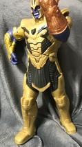 Marvel Figure Thanos Super villain action figure large ships free!  B21 - £34.54 GBP