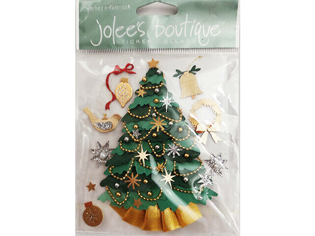 Jolee's Boutique Christmas Tree Sticker Set #SPJF001