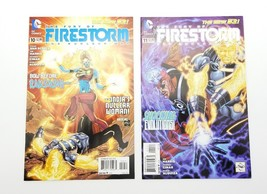 The Fury of Firestorm The Nuclear Men #10 & #11 New 52 August 2012 DC Co... - $4.02