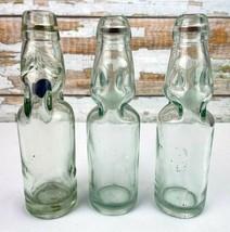 Antique Codd Neck Glass Bottles Davey Moore England Star Brand Extra Strong Owen - $67.85