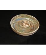 Vintage Desert Sands Pottery,Nevada Ashtray Green Brown Beige Mission Sw... - $9.39