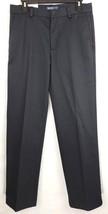 IZOD Mens 30 X 32 Blue American Chino Wrinkle Free Straight Leg Flat Front Pants - $17.01